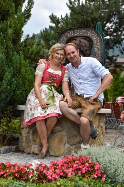 Familie Barbara und Michael