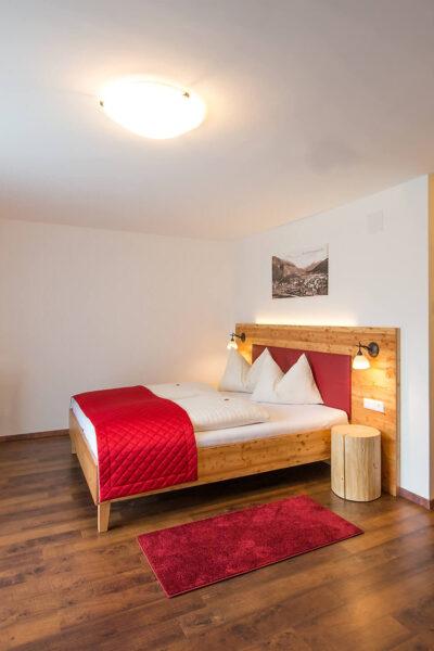 Hotelzimmer Hochformat